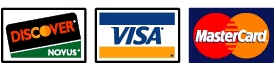 Discover Visa MasterCard